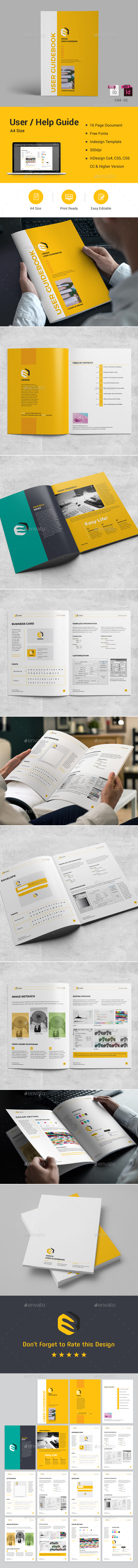 User Guide / Help Guide - Corporate Brochures