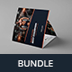 Gym – Bundle Print Templates 5 in 1