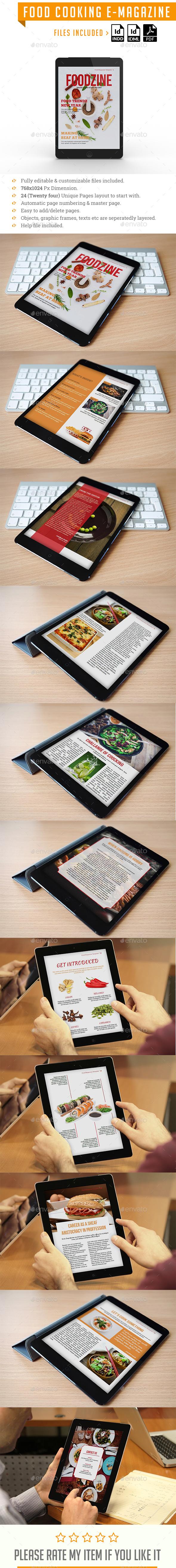 Food E Magazine - ePublishing