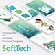 SoftTech Business Powerpoint Template