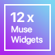 12x Adobe Muse Widgets by Rosea Themes - CodeCanyon Item for Sale