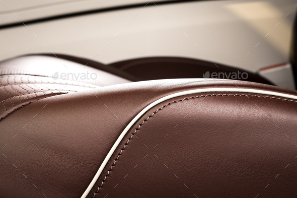 Car seat details - Stock Photo - Images