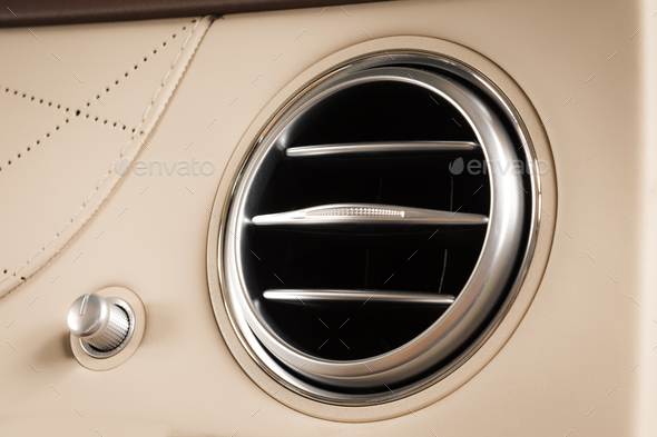 Ventilation hole AC deck - Stock Photo - Images