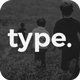 Type Powerpoint Template
