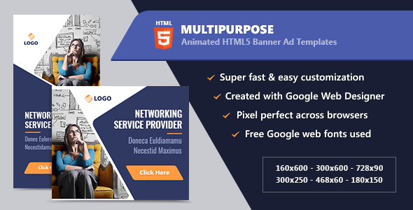CodeCanyon HTML5 Animated Banner Ads Multipurpose GWD 21263304
