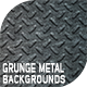 Grunge Metal Backgrounds - GraphicRiver Item for Sale
