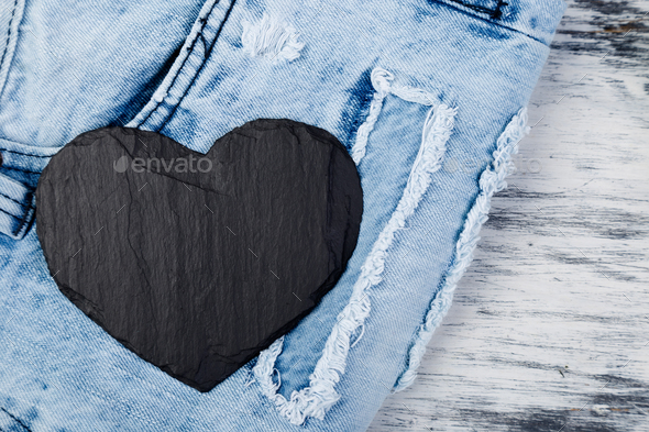 Denim. Jeans texture background. - Stock Photo - Images