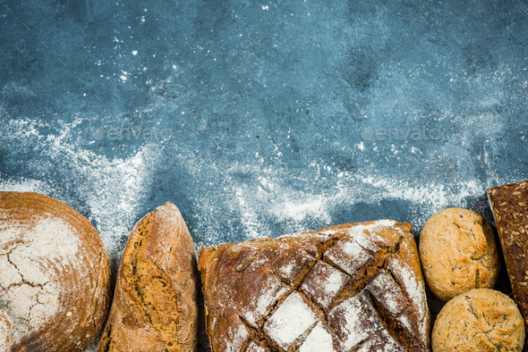 Artisan bread and bakery products - Stock Photo - Images
