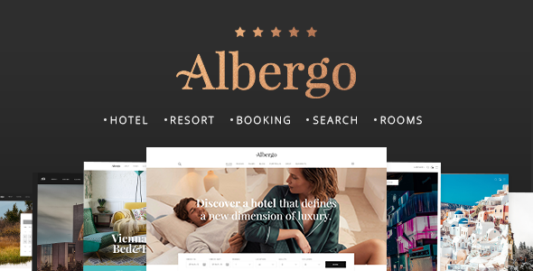 Albergo – A Modern Hotel and Accommodation Booking Theme (Travel) 00 preview