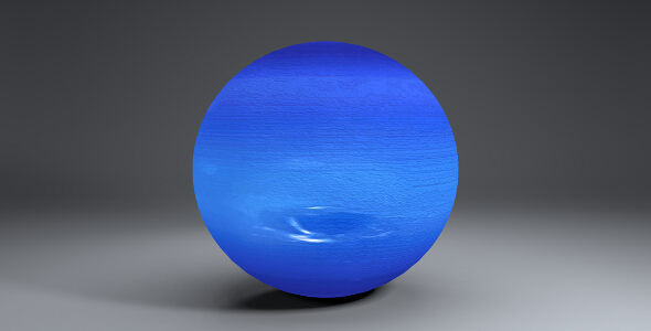 Neptune 2k Globe - 3DOcean Item for Sale