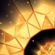 Golden Abstract Geometry - VideoHive Item for Sale
