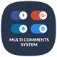 Multi Comments For WordPress