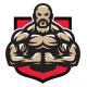 Bodybuilder Mascot - GraphicRiver Item for Sale