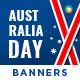 Australia Day Banner Set