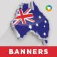 Australia Day Banner Set - GraphicRiver Item for Sale