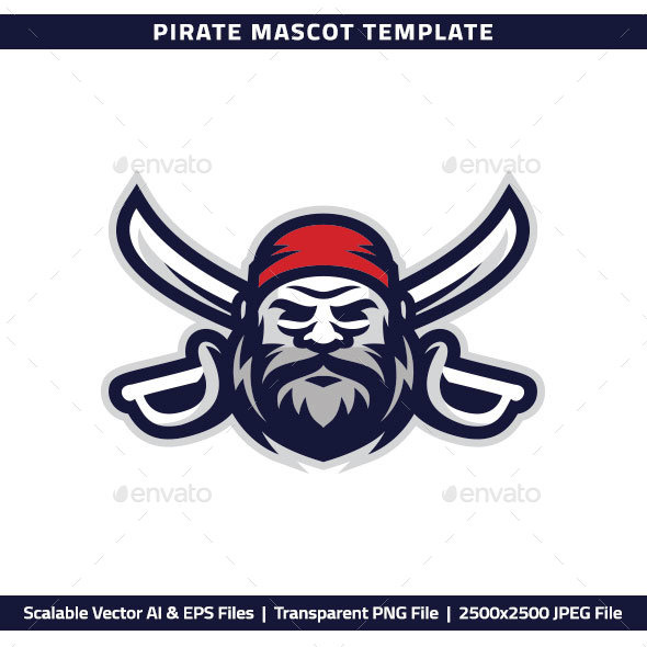 Pirate Mascot - People Characters