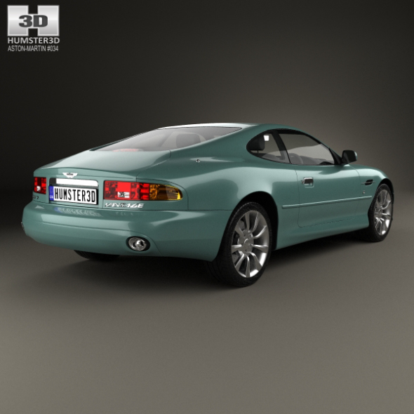 Aston Martin Db7 Vantage 1999 By Humster3d 3docean