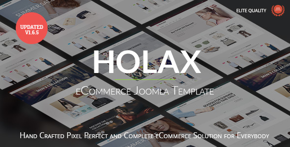 Image of Holax - Multipurpose Hikashop eCommerce Template