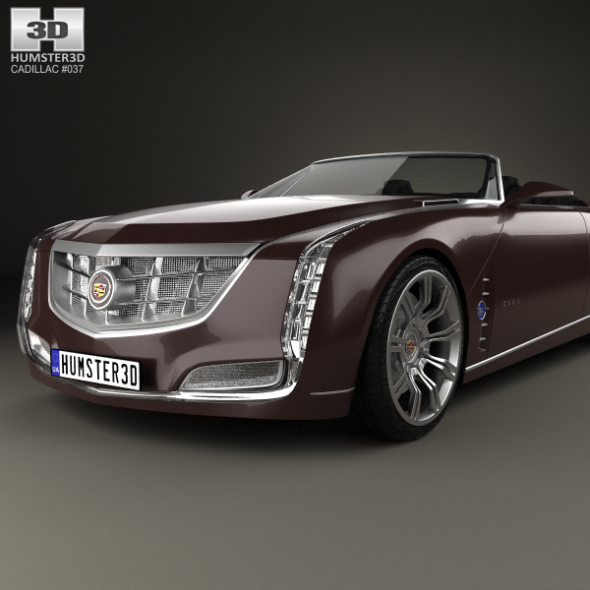 Cadillac Ciel 2011 By Humster3d 3docean