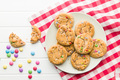 Sweet cookies with colorful candies. - PhotoDune Item for Sale