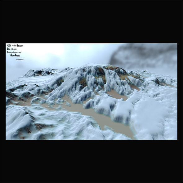 snow terrain 2 - 3DOcean Item for Sale