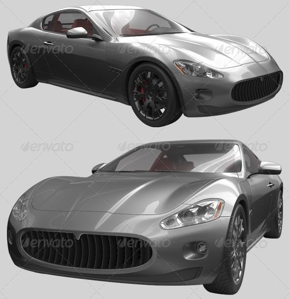 3D Sport Car - Miscellaneous 3D Renders