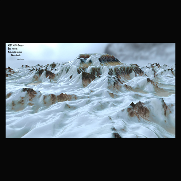 snow terrain 5 - 3DOcean Item for Sale