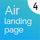 Air Multi Purpose Landing & One Page website - ThemeForest Item for Sale