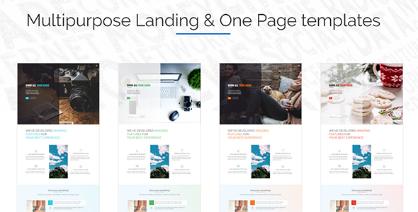 ThemeForest Air Multi Purpose Landing & One Page website 21159663