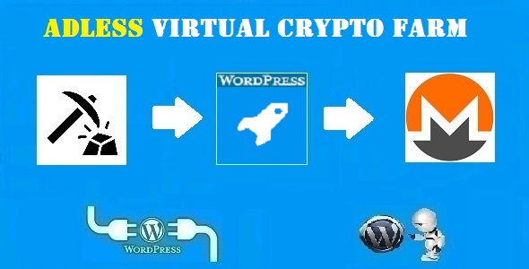 CodeCanyon Adless Virtual Crypto Farm Plugin for WordPress 21265334