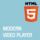 Modern Video Player - CodeCanyon Item for Sale