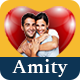 Amity Online Dating PSD Template