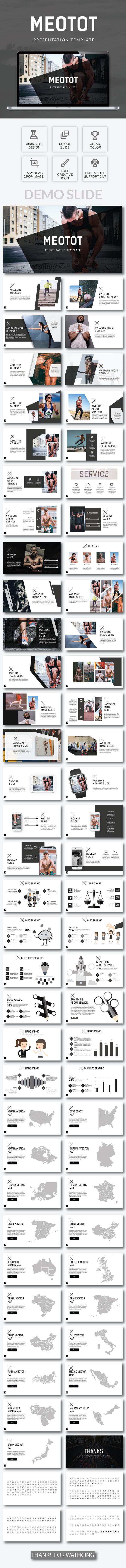 Metotot Business Google Slide Template - Google Slides Presentation Templates