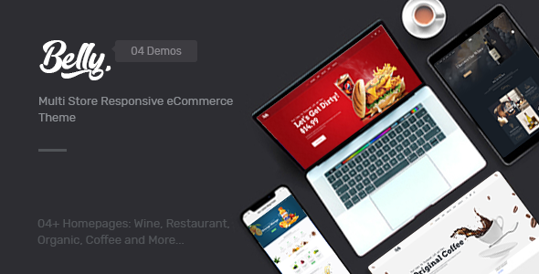 Image of Belly - Wine, Food & Drink Theme for Opencart 3.x