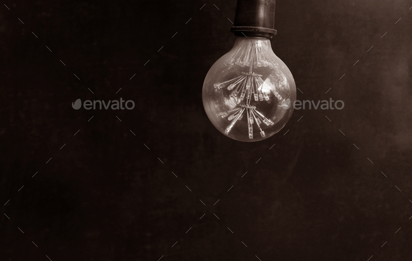 Energy saving LED light bulb - Stock Photo - Images