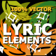 Flash FX Lyric Elements - VideoHive Item for Sale