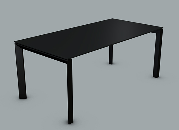 Modern Dining Table - 3DOcean Item for Sale
