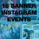 Instagram Banner Events Bundle - GraphicRiver Item for Sale