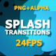 Flash FX Splash Transitions - VideoHive Item for Sale