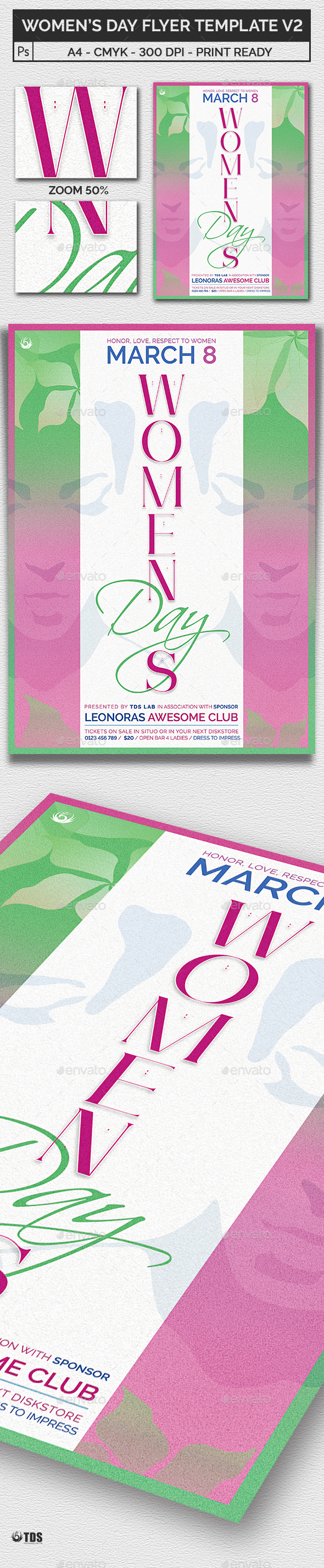 Womens Day Flyer Template V2 - Holidays Events