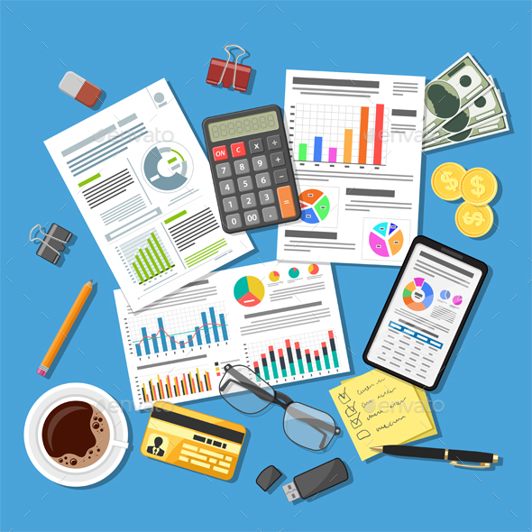 Auditing, Tax Process, Accounting Concept - Concepts Business