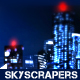 Skyscrapers Futuristic City - VideoHive Item for Sale