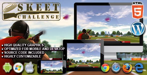 Skeet Challenge - HTML5 Sport Game - CodeCanyon Item for Sale