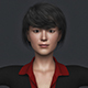 Realistic Asian Business Woman - 3DOcean Item for Sale