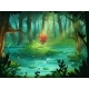 The Scarlet Flower on an Island in a Swamp - GraphicRiver Item for Sale