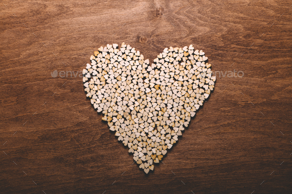 Little hearts in one big heart. - Stock Photo - Images