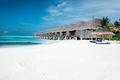 Summer wooden water villas on Maldives - PhotoDune Item for Sale