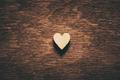 Heart on dark wooden background - PhotoDune Item for Sale