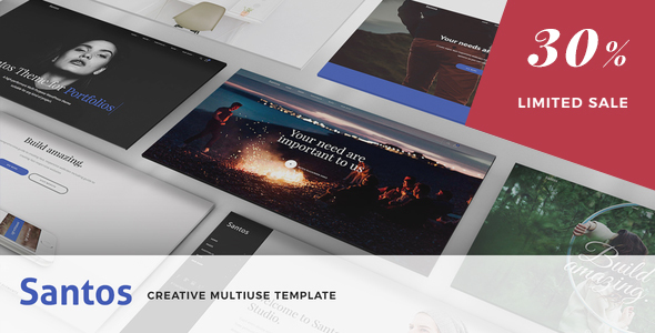 Santos - Modern Multi-Purpose Template