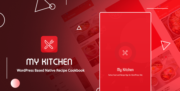 CodeCanyon My Kitchen Recipe Cookbook native android application based on WordPress 21268114